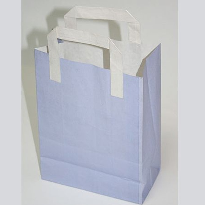 El origen de la bolsa de papel