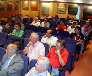 Jornada de la FEPM en el COAAT de León sobre pavimentos de madera y climatizacion radiante
