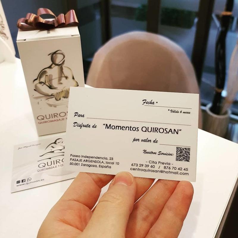 """""""Momentos Quirosan"""": Servicios de Quirosan"""