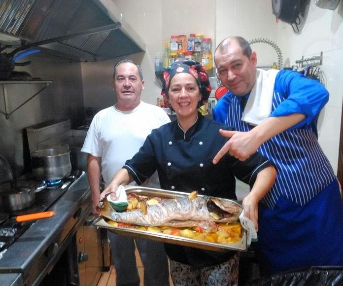 Pescados y Mariscos: Carta de Casa Loren