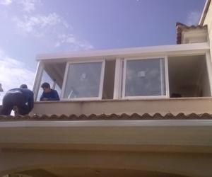 Cerramiento de terrazas