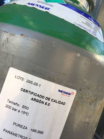 Gases de Alta Pureza: Productos de Disgasin, S.L.