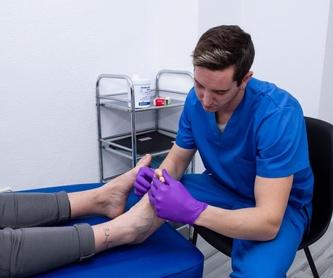 Fisioterapia: Vendaje Neuromuscular: Servicios de Clínica Tomás Ribera