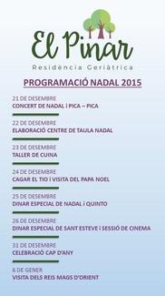 PROGRAMACIÓ NADAL 2015