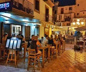 Restaurante de sushi en el puerto de Ibiza