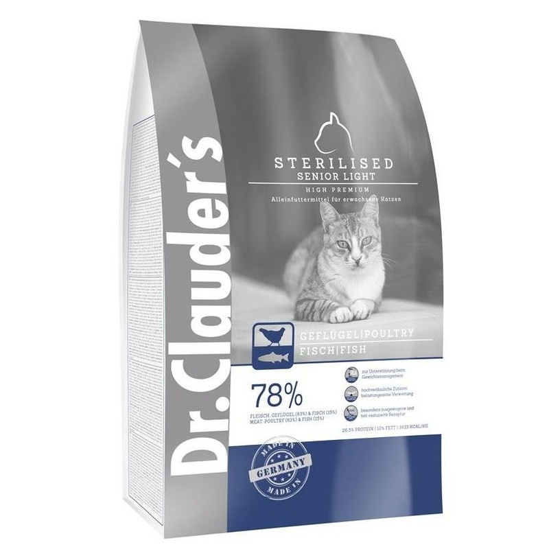 DR.CLAUDER'S HIGH PREMIUM STERILIZED SENIOR/LIGHT