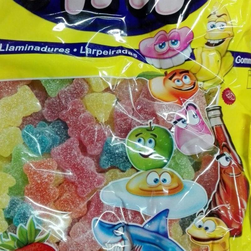 Gominolas marca Fini en Barcelona