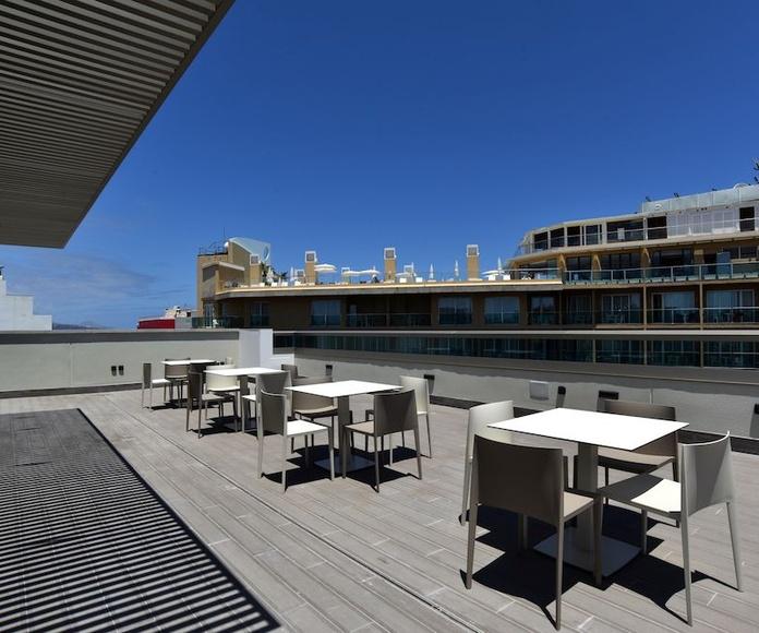 Hotel Doña Luisa (terraza)