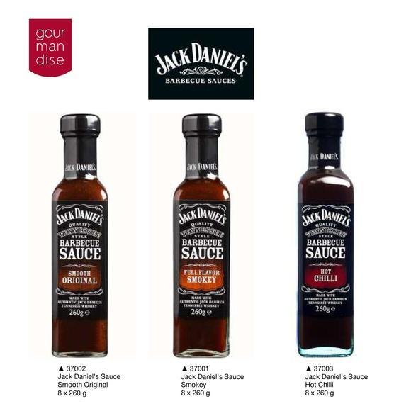 Jack Daniel's Barbecue Sauces: Productos de Casa Bastida