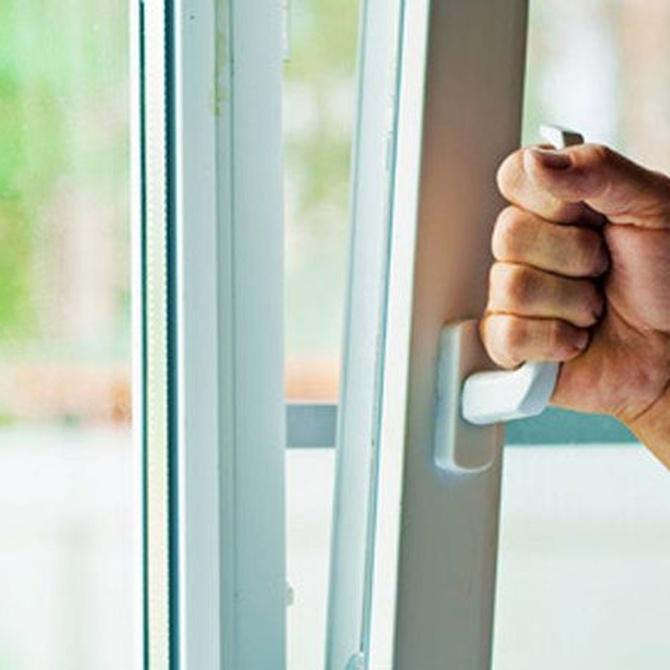 Mantenimiento de las ventanas de aluminio