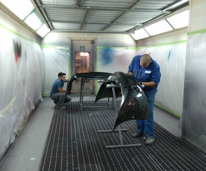 Taller de pintura en Algorta