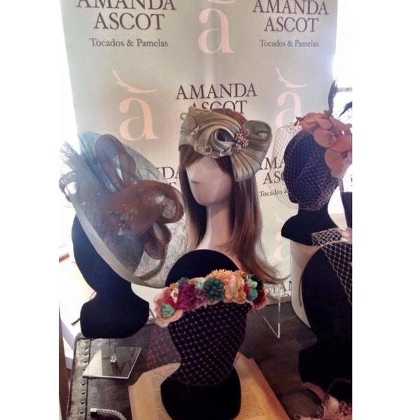 Tocados: Catálogo de Amanda Ascot
