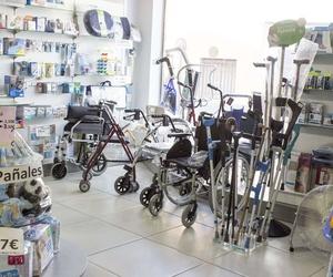 Farmacia especializada en ortopedia en Cáceres