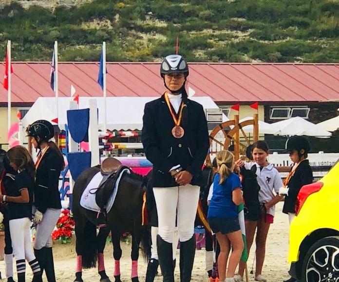 medalla de bronce cto españa ponis c de cce