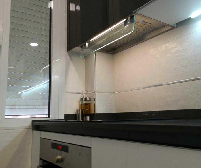 PROYECTO REALIZADO EN MADRID SUR : PROYECTOS REALIZADOS de Diseño Cocinas MC