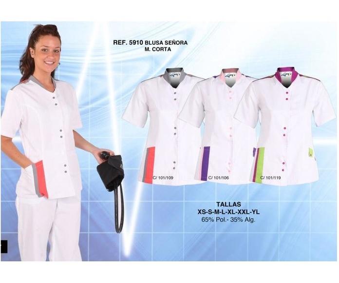 Blusones lisos: Ropa de Trabajo de Uniformespuntocom-grancanaria