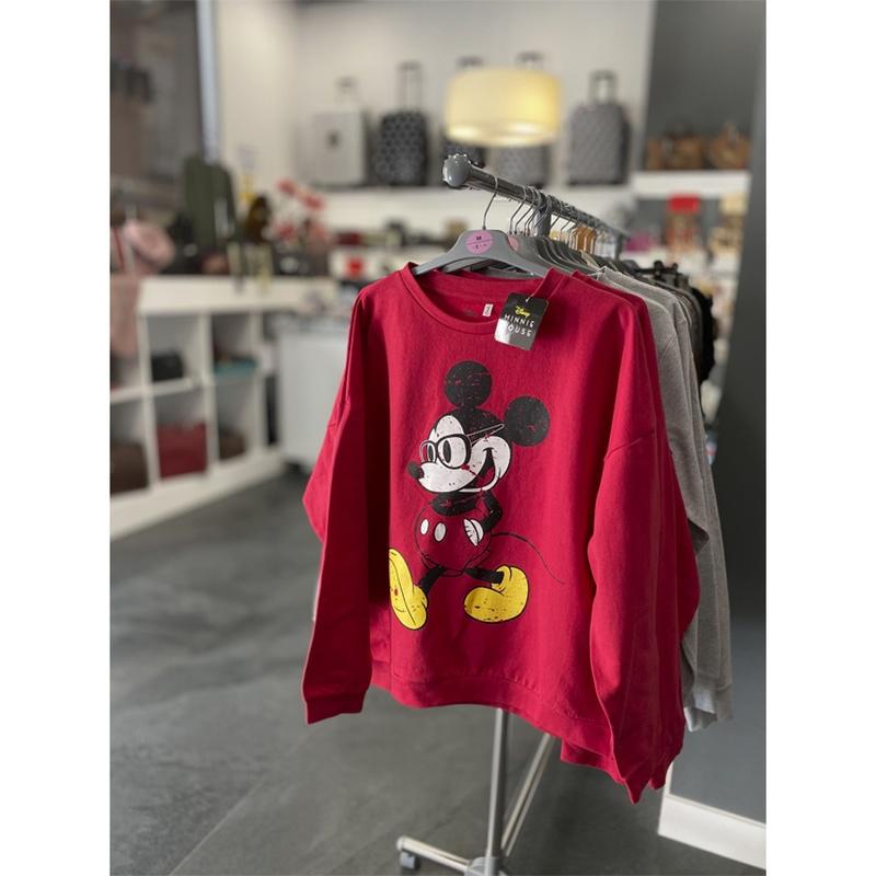 Sudadera Minnie, tallas L y XL Precio 27€