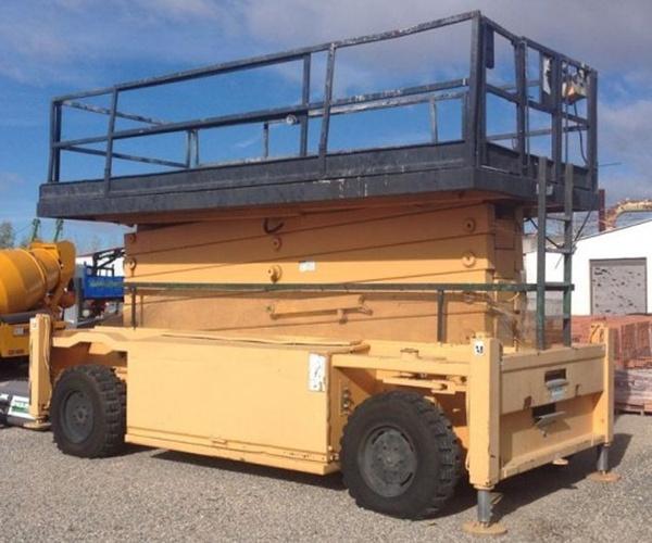 Alquiler de vehículos de construcción