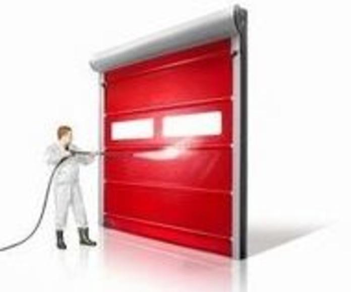 Puerta Rápìda enrollable y Autorreparable alimentación : Puertas automáticas  de Farem Puertas Automáticas