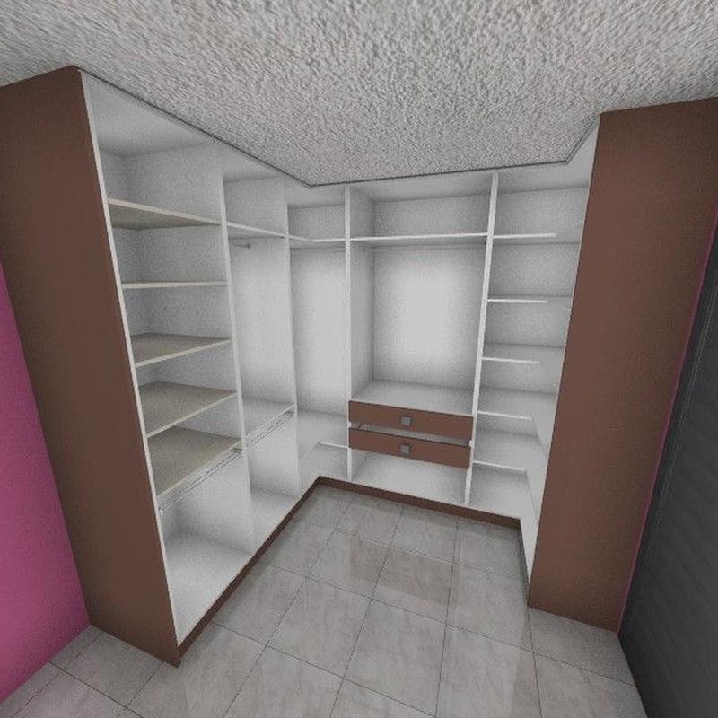 Armarios empotrados y vestidores 3-D: Catálogo de Carpintería Ferrándiz