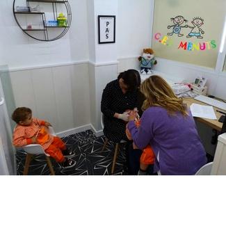 Revisión  odontopediátrica  en cei menuts
