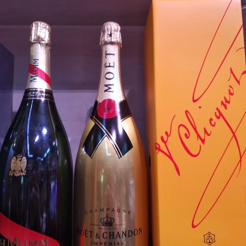 Venta de champagne en Bilbao