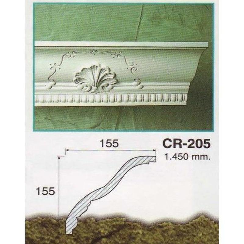 Cornisa CR-205: Catálogo de  Galuso