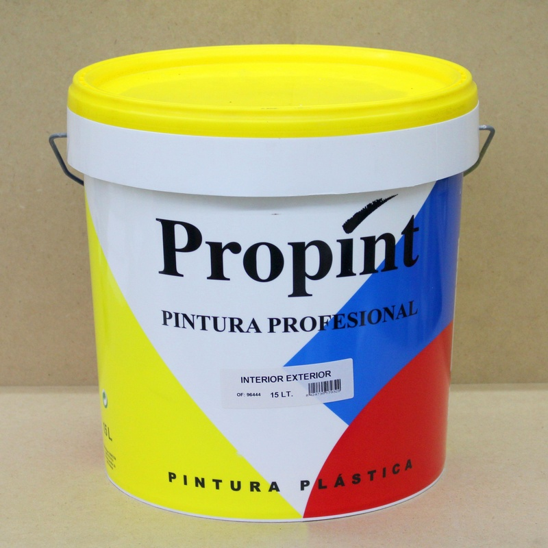 Pintura plástica Propint P3 en Barcelona