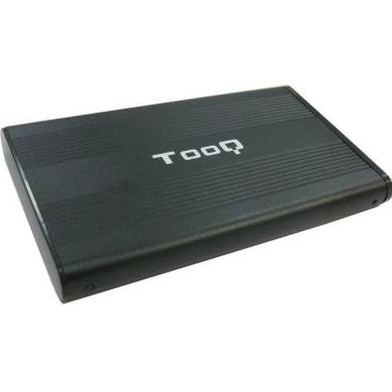 """TooQ TQE-2510B caja HD 2.5"""" SATA USB 2.0 negra : Productos y Servicios de Stylepc"""
