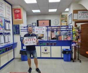 Foto 1 primer premio lotería nacional Jueves 1 de Julio