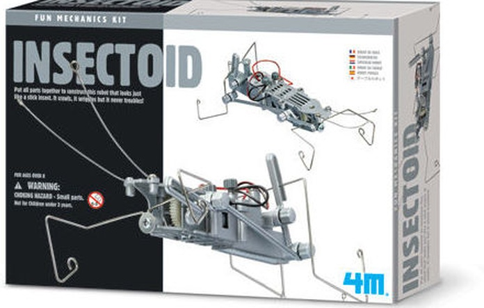 ROBOTS ORIGINALES Y EDUCATIVOS. FUN MECHANICS KIT. 4M