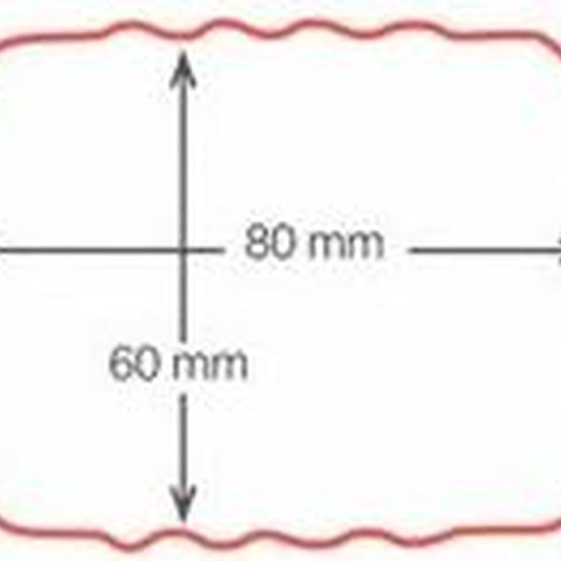 Bajante rectángular 60x80