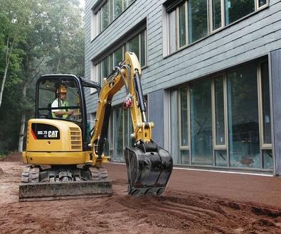 Alquiler de maquinaria para la construcción