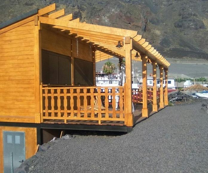 kIOSKO  EN EL REMO 25m +50 m2 terraza