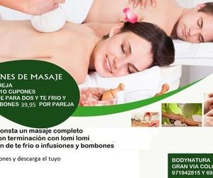 masaje en pareja 39,95€
