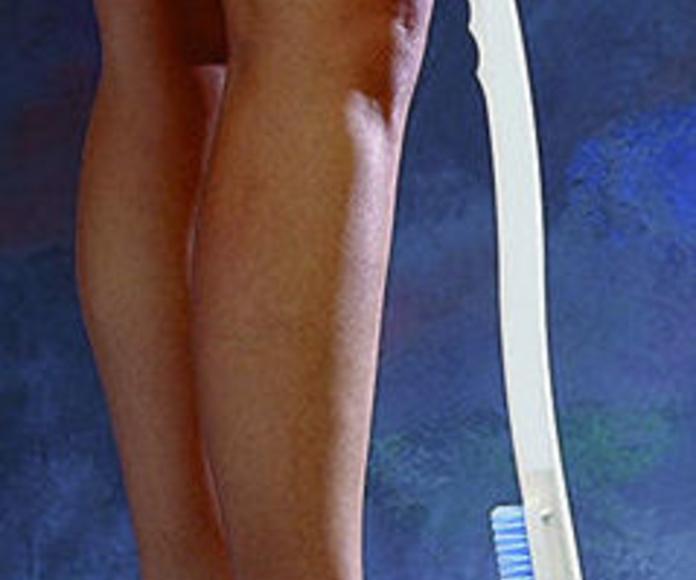 Esponja y cepillo para pies