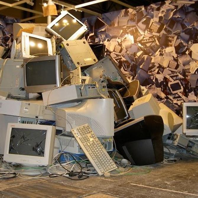 ¿Por qué debemos reciclar la chatarra electrónica?