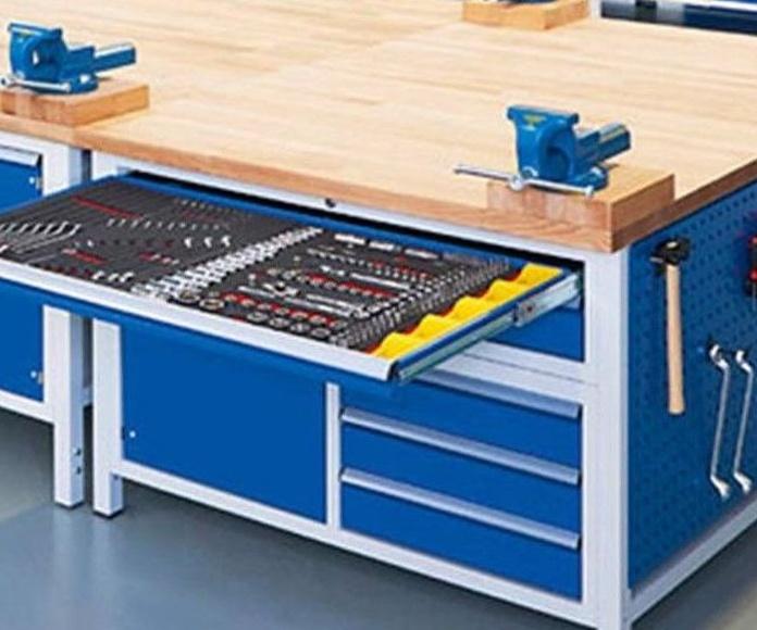 Mobiliario industrial y almacenaje: Productos de Iturralde Industrigaiak, S.L.