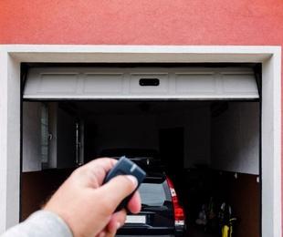 La seguridad y las puertas de garaje