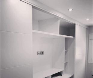 Frentes e interiores de armario