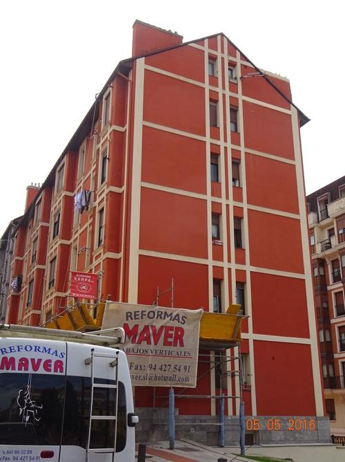 Reparación y pintura de fachadas