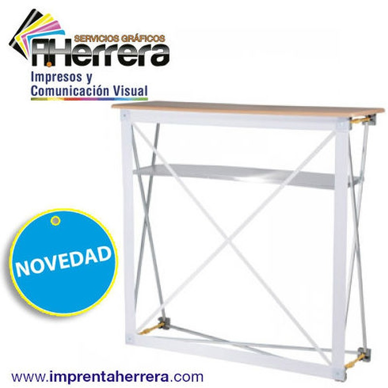 Mostrador Textil Hop-Up