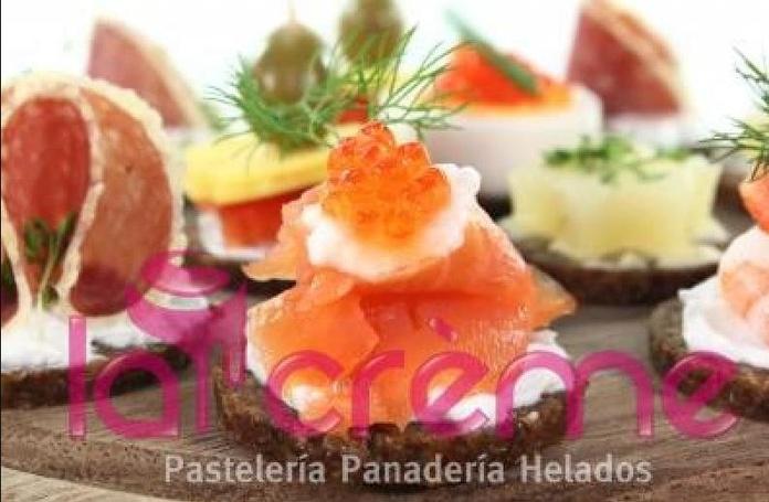 Carta de catering: Menus Catering precios de Catering La Crème