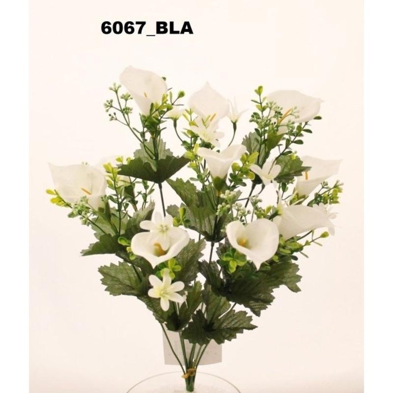 POMO CALAS. COLOR:BLANCO REF.:6067 BLA PRECIO: 1,80 €