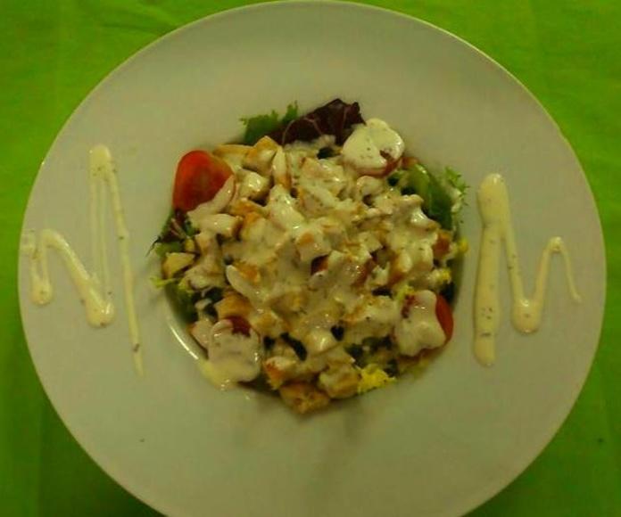Verduras y ensaladas: Nuestros Platos de El Nuevo Virrey