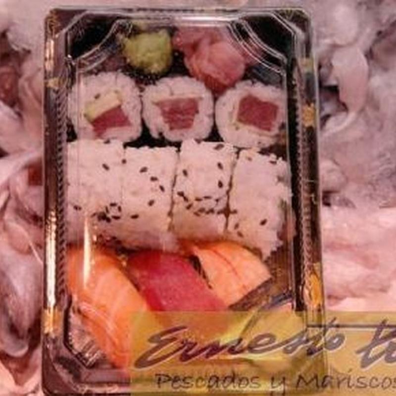 Bandeja de sushi variado: Productos de Ernesto Prieto