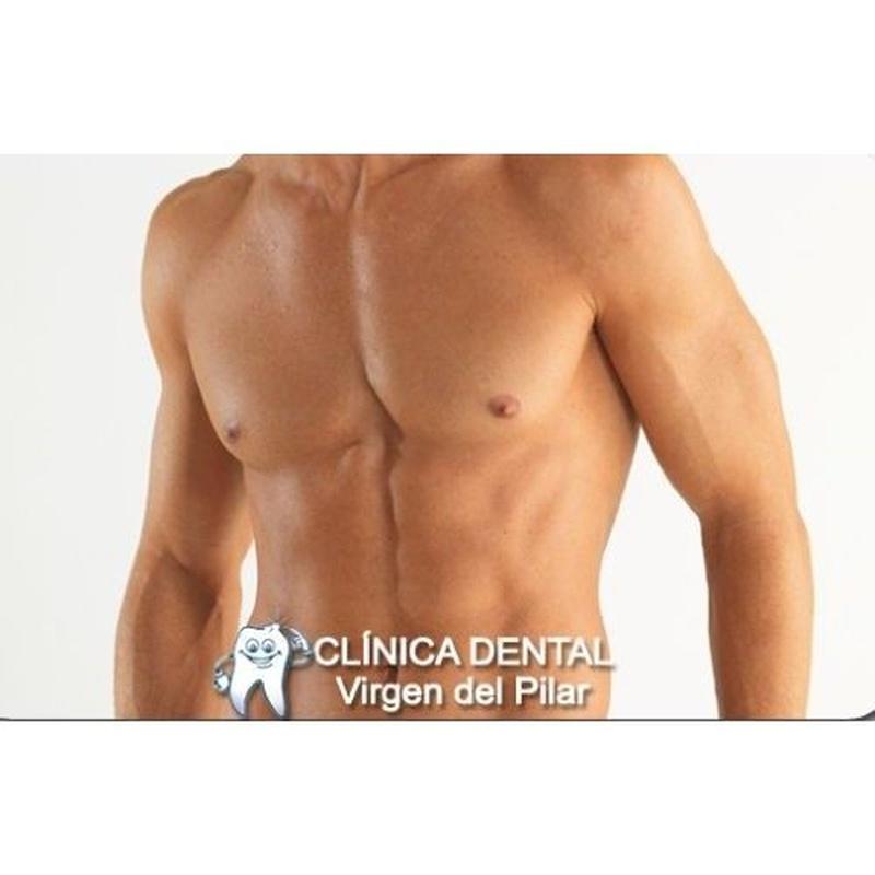 Ginecomastia: Tratamientos de Clínica Dental Virgen del Pilar