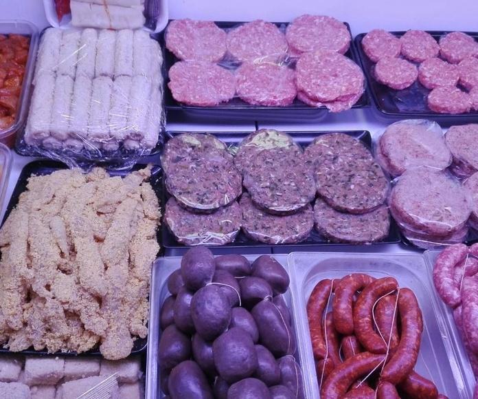 Hamburguesas: Productos de Casa Rafa Carnicería Charcutería