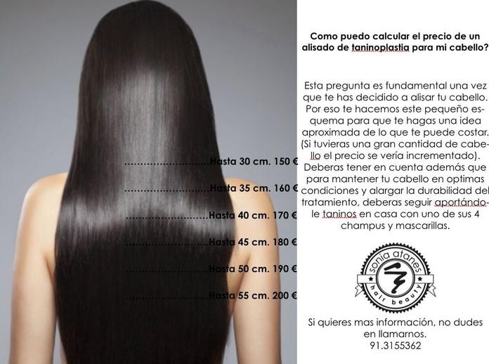 Tratamiento de alisado con Taninoplastia: Servicios de peluquería de Sonia Atanes