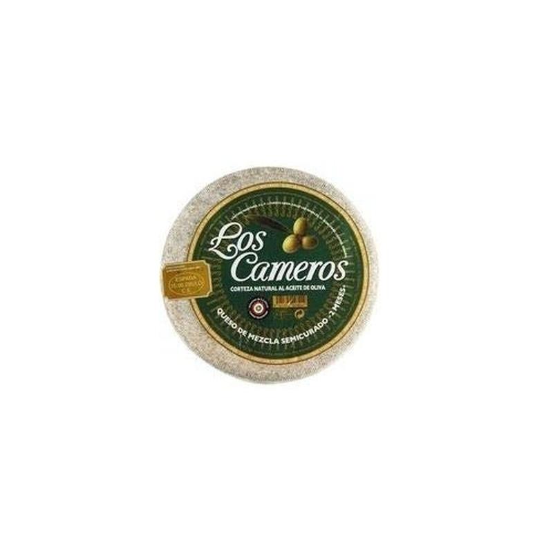 Queso mezcla semi curado Los Cameros: Selección de productos de Jamonería Pata Negra